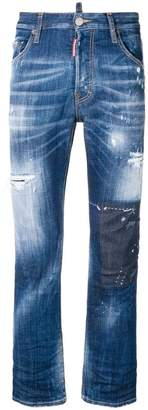 DSQUARED2 cropped flare jeans