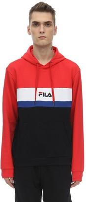 Fila Urban Logo Cotton Blend Sweatshirt Hoodie