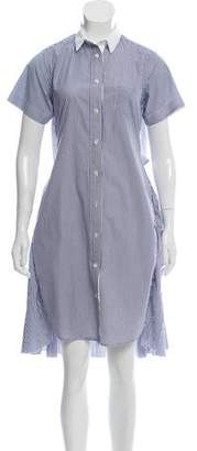 Sacai Button-Up Midi Dress