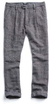Todd Snyder Made in New York Houndstooth Pleated Trouser