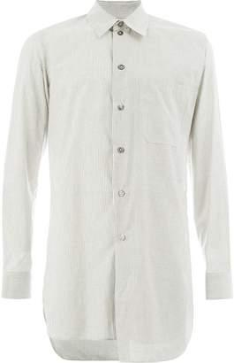 Ann Demeulemeester Grise asymmetric oversized shirt