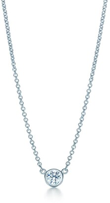 Tiffany & Co. Elsa Peretti Diamonds by the Yard pendant in platinum - Size .08