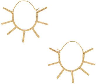 Paradigm Sunburst Earring