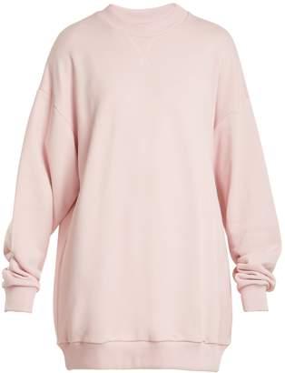 Marques Almeida MARQUES'ALMEIDA Oversized cotton-blend sweatshirt