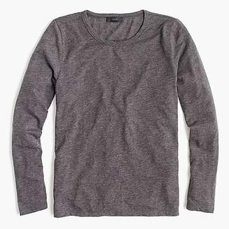 J.Crew Long-sleeve crewneck T-shirt in slub cotton