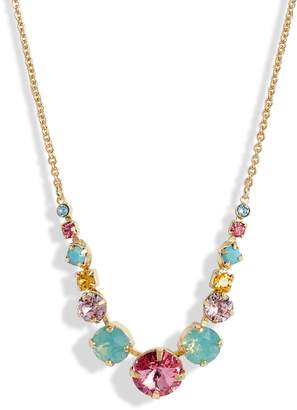 Sorrelli Delicate Round Crystal Frontal Necklace