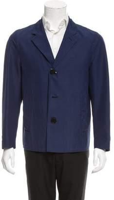 Burberry Notch-Lapel Three-Button Jacket