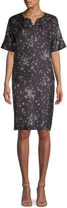 Lafayette 148 New York Thoren Silk Tunic Dress