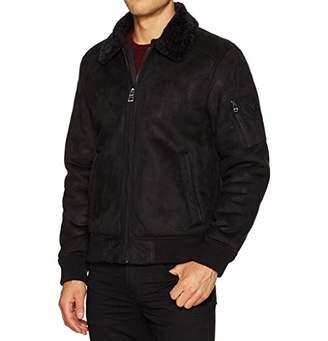 GUESS Men's Redmond Bomber Jacket