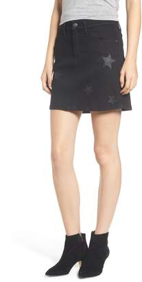 Current/Elliott Five-Pocket Denim Miniskirt