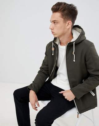 Brave Soul Hooded Jacket With Toggles
