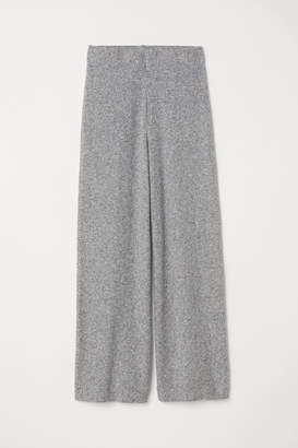 H&M Wide-leg Pants - Gray