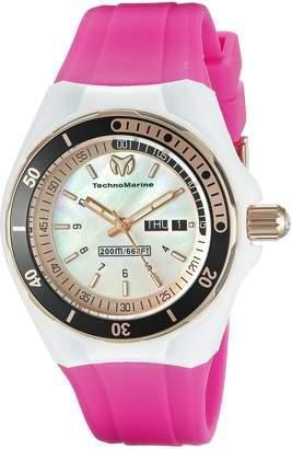 Technomarine Women's TM-115120 Cruise Sport Analog Display Swiss Quartz Pink Watch