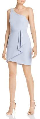 BCBGMAXAZRIA Eve Draped Shirt Dress