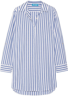 M.i.h Jeans Oversized Striped Cotton Shirt - Blue