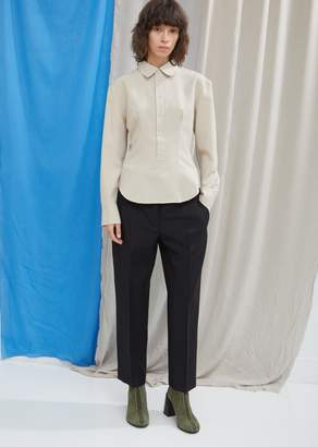 Acne Studios Wool Mohair Cropped Trousers