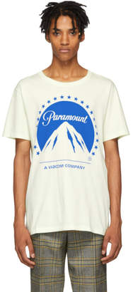 Gucci White Paramount T-Shirt