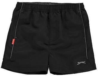 Slazenger Kids Woven Shorts Pants Trousers Bottoms Infant Boys Lightweight