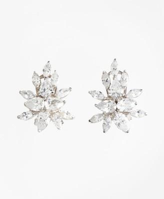 Brooks Brothers Marquis-Cut Cluster Stud Earrings