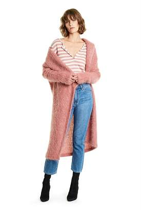 Country Road Mohair Fluffy Coat
