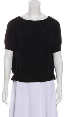 Reed Krakoff Cashmere Short Sleeve Sweater