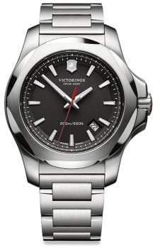 Victorinox Men's Stainless Steel Watch - Silver
