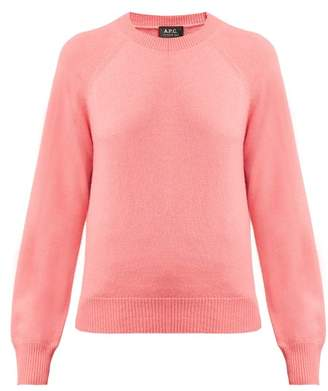 A.P.C. Stirling Cashmere Sweater - Womens - Pink