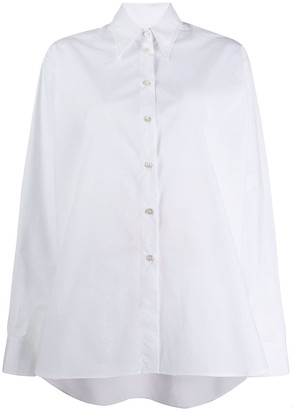 MM6 MAISON MARGIELA high-low hem shirt