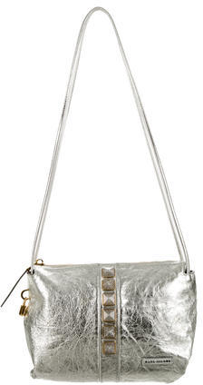 Marc JacobsMarc Jacobs Metallic Leather Shoulder Bag
