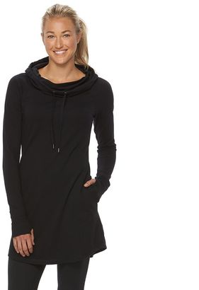 Women's Tek Gear® Cowlneck Tunic Dress $40 thestylecure.com