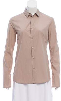 Helmut Lang Casual Khaki Button-Up