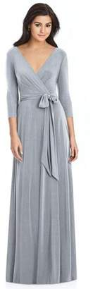 Dessy 3/4 Sleeve Bridesmaid Dress