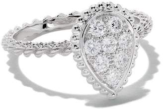 Boucheron 18kt white gold Diamond Serpent Bohème ring