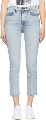 Rag & Bone Blue Cigarette Jeans