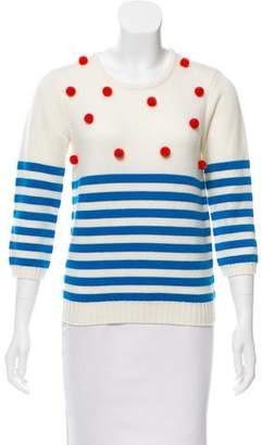 Manoush Pom-Pom Wool Sweater
