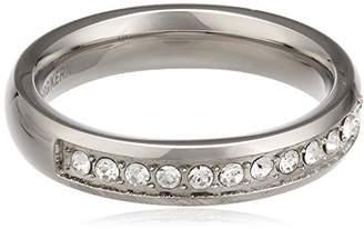 Dyrberg/Kern Women's Ring Stainless Steel Swarovski Crystal 57 (18.1)