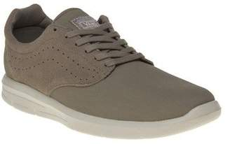 Vans New Mens Taupe Khaki Iso 1.5 Suede Trainers Plimsolls Lace Up