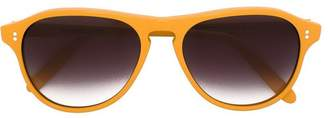 Cutler & Gross rectangular shaped sunglasses