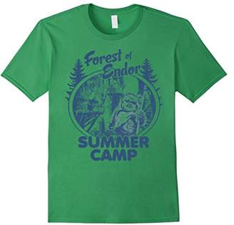 Star Wars Wicket Ewoks Endor Forest Summer Camp T-Shirt