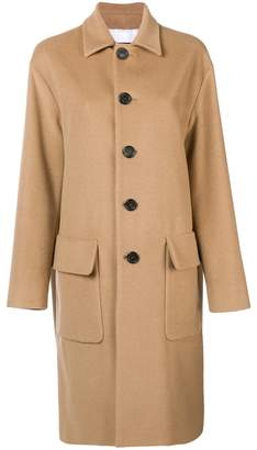 DSQUARED2 classic buttoned coat