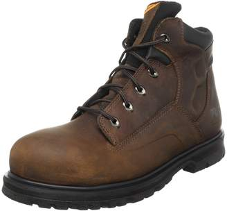 "Timberland Men's Magnus 6"" Safety Toe Work Boot"
