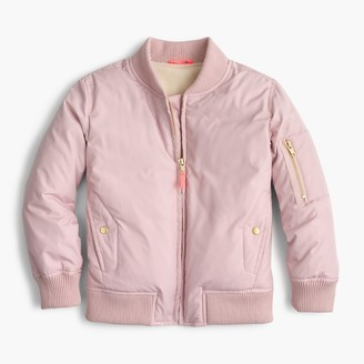 Girls' bomber jacket $88 thestylecure.com