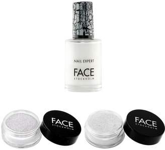 Face Stockholm White with Nail Polish Set