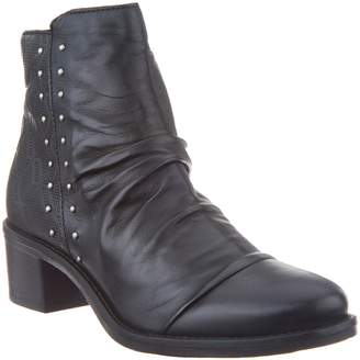 Miz Mooz Leather Studded Ankle Boots - Felix