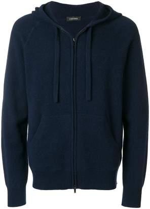 Ermenegildo Zegna knitted zip jacket