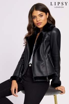 professional website so cheap more photos Black Aviator Jacket - ShopStyle UK