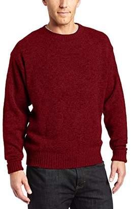 Pendleton Men's Shetland Washable Wool Crew Neck Sweater