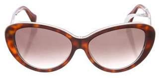 Balenciaga Tortoiseshell Tinted Sunglasses