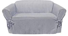 Sure Fit Muskoka Stripe One-Piece Loveseat Slipcover