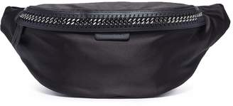 'Falabella Go' satin bum bag